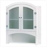 SWM Wood Bathroom Wall Cabinet - White (SWM857)