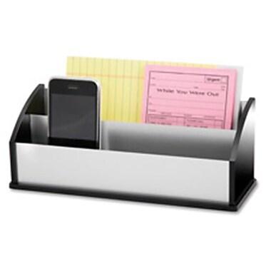 Kantek Letter-Message Sorter- Black Acrylic-Aluminum (SPRCH17204)