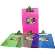DDI Acrylic Clip Board - 6 in. x 9 in. - assorted colors Case Of 48 (DLRDY245701)