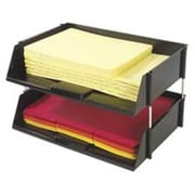 Deflect-O Corporation Side Loading Tray- 16-.50in.x11-.19in.x3-.50in.- Black (SPRCH19870)