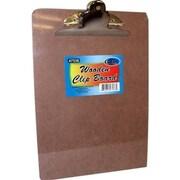 DDI Hard board Clip Board - 12.5 in. x 9 in. - Large Clip Case Of 48 (DLRDY249845)