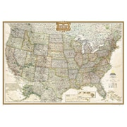 National Geographic Maps United States Executive Poster Size( NAGGR032)