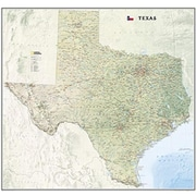 National Geographic Maps Texas State Wall Map Laminated( NAGGR054)