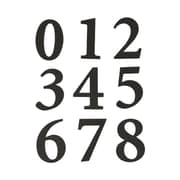 Hy-ko 2.38 in. Black Self-Adhesive Packaged Numbers( JNSN60933)