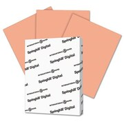 Springhill 8.5 x 11 Digital Index Color Card Stock, 110 lbs. - Salmon (AZTY14847)