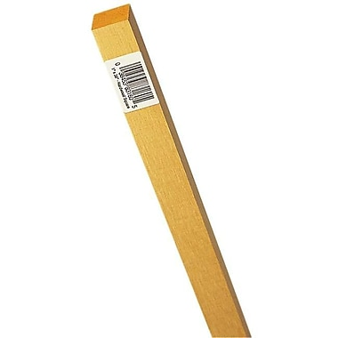 Waddell Mfg. .25in. X 36in. Hardwood Square Dowel --pack of 25 (JNSN20529)