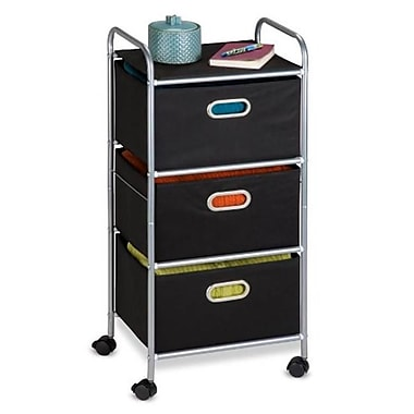 Honey-Can-Do International 3 Drawer Fabric Storage Cart (HNY622)