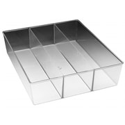 Whitmor Mfg. 3 Section Small Clear Drawer Organizer (JNSN69882)