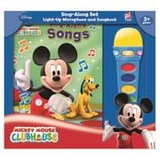 Book Box And Module Mickey Mouse Clubhouse Microphone (RTL146614)