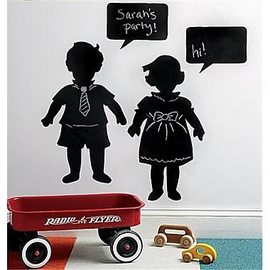 Wallies Wallcoverings Peel & Stick Chalkboard Mural Vintage Kids (WLWC026)