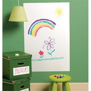 Wallies Wallcoverings BIG Peel & Stick Dry Erase White (WLWC021)