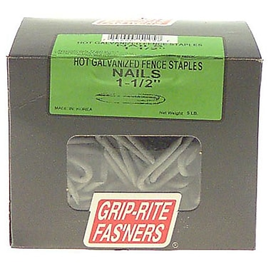 Prime Source 1-.50in. Hot Galvanized Fence Staples( JNSN26089)