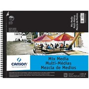 Canson 14 in. x 17 in. Artist Series Mixed Media Wire Bound Pad - 20 Sheet( ALV12702)