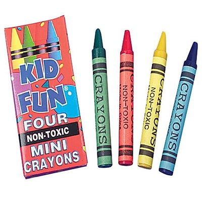 US Toy Company Mini Crayons/4-Bx (3 Packs Of 144)( USTYC0848) 2598006
