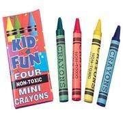 US Toy Company Mini Crayons/4-Bx (3 Packs Of 144)( USTYC0848)