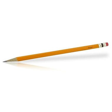 Integra 202349 Integra #2 Premium Wood Case Pencils Yellow -12 Pack (XS202349)