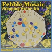 Milestones Pebble Mosaic Stepping Stone Kit( NMG8660)