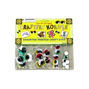 Colored wiggly craft eyes - Pack of 25( KOLIM12095)