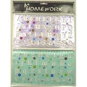 Bulk Savings Stencil Set - Alphabet & Numbers- Case of 48( DLR30247)