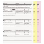 Accufax  Digital Carbonless Paper, 8.5 x 11, Three-Part, White-Canary-Pink, 1670 Sets( AZERTY10701)