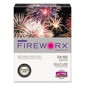 FIREWORX Colored Paper, 24lb, 8-1/2 x 11, Flashing Ivory, 500 Sheets/Ream