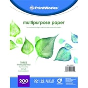 Paris Business Products Printworks Multipurpose Paper, White( DGC105817)