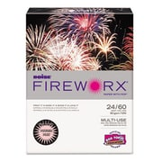FIREWORX Colored Paper, 24lb, 8-1/2 x 11, Powder Pink, 500 Sheets/Ream