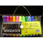 Bulk Buys Mini - Markers - 12 pack - asst. colors. - Case of 48 (DLRDY236531)
