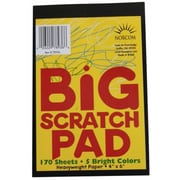 Norcom Inc 4 in. X 6 in. Big Scratch Pad (JNSN70465)