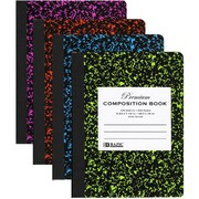 DDI Wide Rule Asst Color Marble Composition Book Case Of 48 (DLRDY245917)