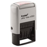 Us Stamp Trodat Economy 5-in-1 Stamp Dater Self-Inking 1 5/8 x 1 Blue/Red (AZUSSE4754)