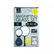 Bulk Buys Od388 Magnifying Glass Set Pack Of 5 (SWM11129)