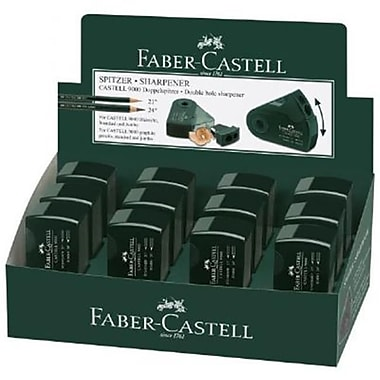 Faber-Castell CASTELL 9000 Double-Hole Sharpener Display( ALV19763)