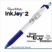 G T Luscombe Pen Paper Mate Inkjoy 2 Pen Philippians Blue (ANCRD27328)