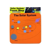 "Bulk Buys 11-3/4"" x 12"" x 1/8"" Solar System Map Foam Mat - Case of 24 (KOLIM21014)"
