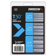 Arrow Fastener 50MP 1875 Count Multi T50 Staple( TRVAL4566)