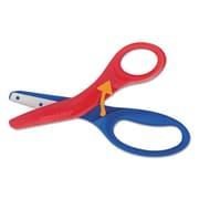 Fiskars Manufacturing 5 in. Preschool Training Scissors, 1.5 in. Cut - Red & Blue (AZTY05449)