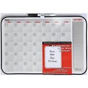 Dooley Manufacturing Co Vinyl Framed Dry Erase Calendar Board 11x17 Asst( DGC12173)