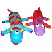 Inkology Inc Bug Eye Pencil Pouch Monsters - 2 designs - Pack of 6 (INKLGR088)
