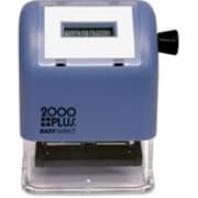 Consolidated Stamp 2000 Plus Easy Select Dater - Date Stamp, Black (AZTY03569)