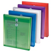 Smead Manufacturing Company Poly Color Envelopes 5Pk Assorted Colors( EDRE41318)