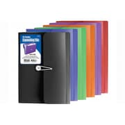 Bazic Products 13-Pocket Letter Size Poly Expanding File - Pack of 6 (BAZC1604)