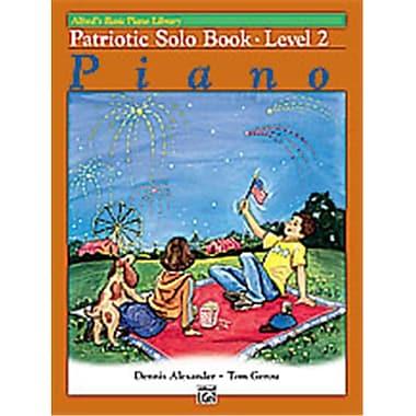 Alfred Basic Piano Course- Patriotic Solo Book 2 - Music Book (ALFRD40688)