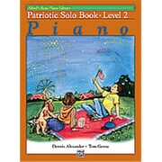 Alfred Basic Piano Course- Patriotic Solo Book 2 - Music Book (ALFRD40688)
