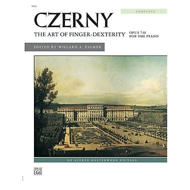 Alfred The Art of Finger Dexterity- Op. 740- Complete - Music Book (ALFRD42968)