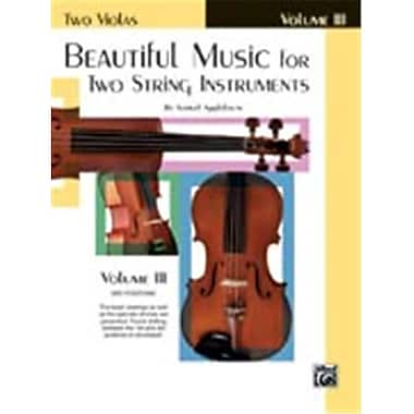 Alfred Beautiful Music for Two String Instruments- Book III - Music Book (ALFRD48334)