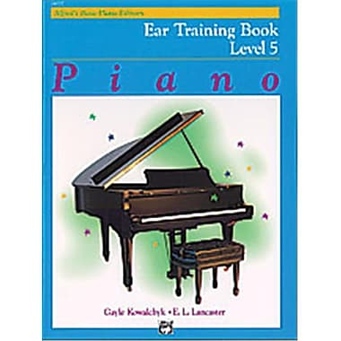 Alfred Basic Piano Course- Ear Training Book 5 - Music Book (ALFRD40643)