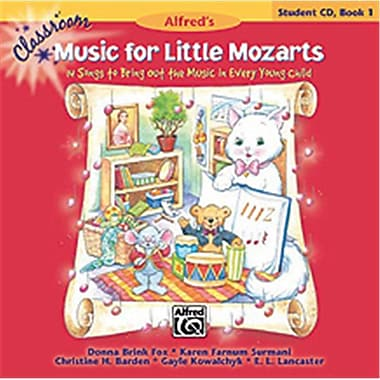 Alfred Classroom Music for Little Mozarts- Student CD Book 1 - Music Book (ALFRD35460)