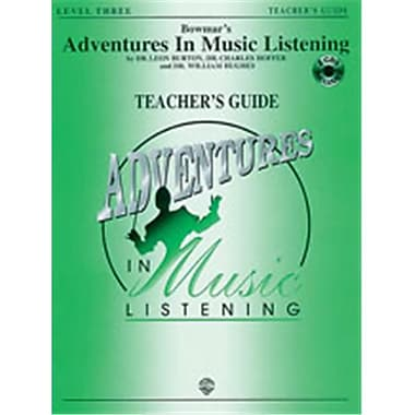 Alfred Bowmar s Adventures in Music Listening- Level 3 - Music Book (ALFRD38779)