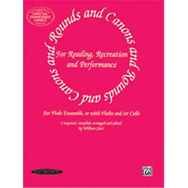 Alfred Rounds and Canons for Reading- Recreation and Performance - Music Book (ALFRD46975)